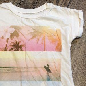 Carters Short Sleeve Beach Themes Tee - Sz 5